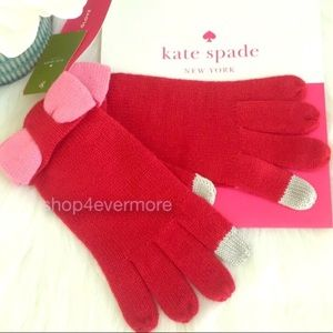 🆕♠️Kate Spade New York Knit Gloves 🧤